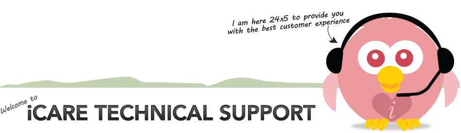 iCARE Technical Support Site